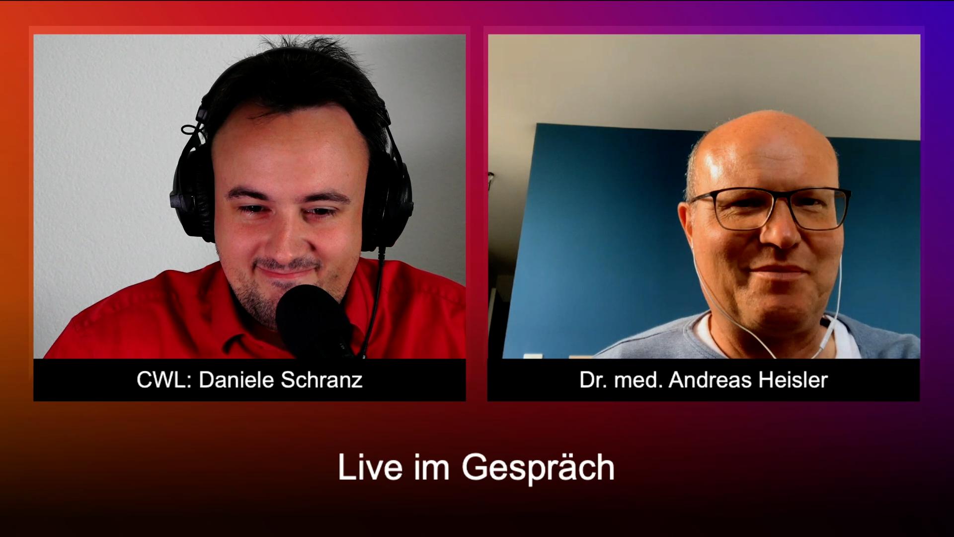 Im Gespräch mit Dr. med. Andreas Heisler