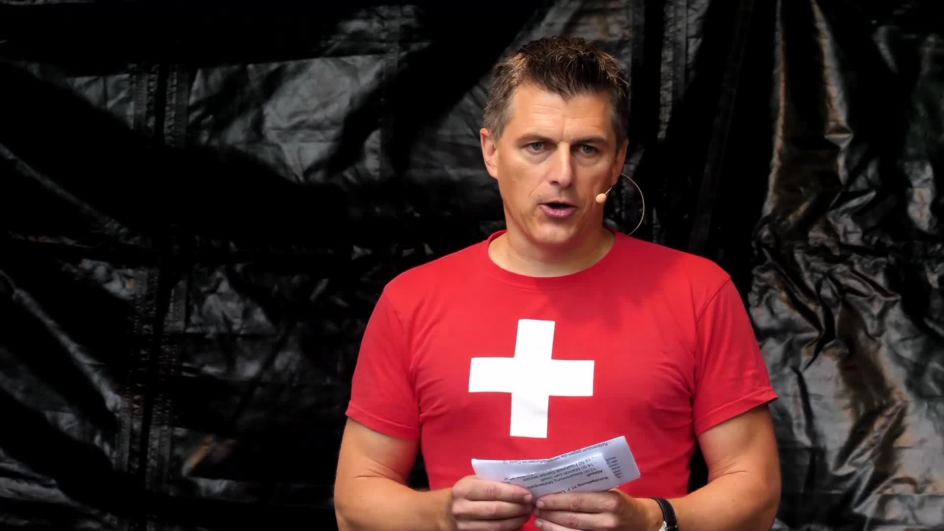 Kundgebung Luzern 31-08-2021: Einleitung Josef Ender