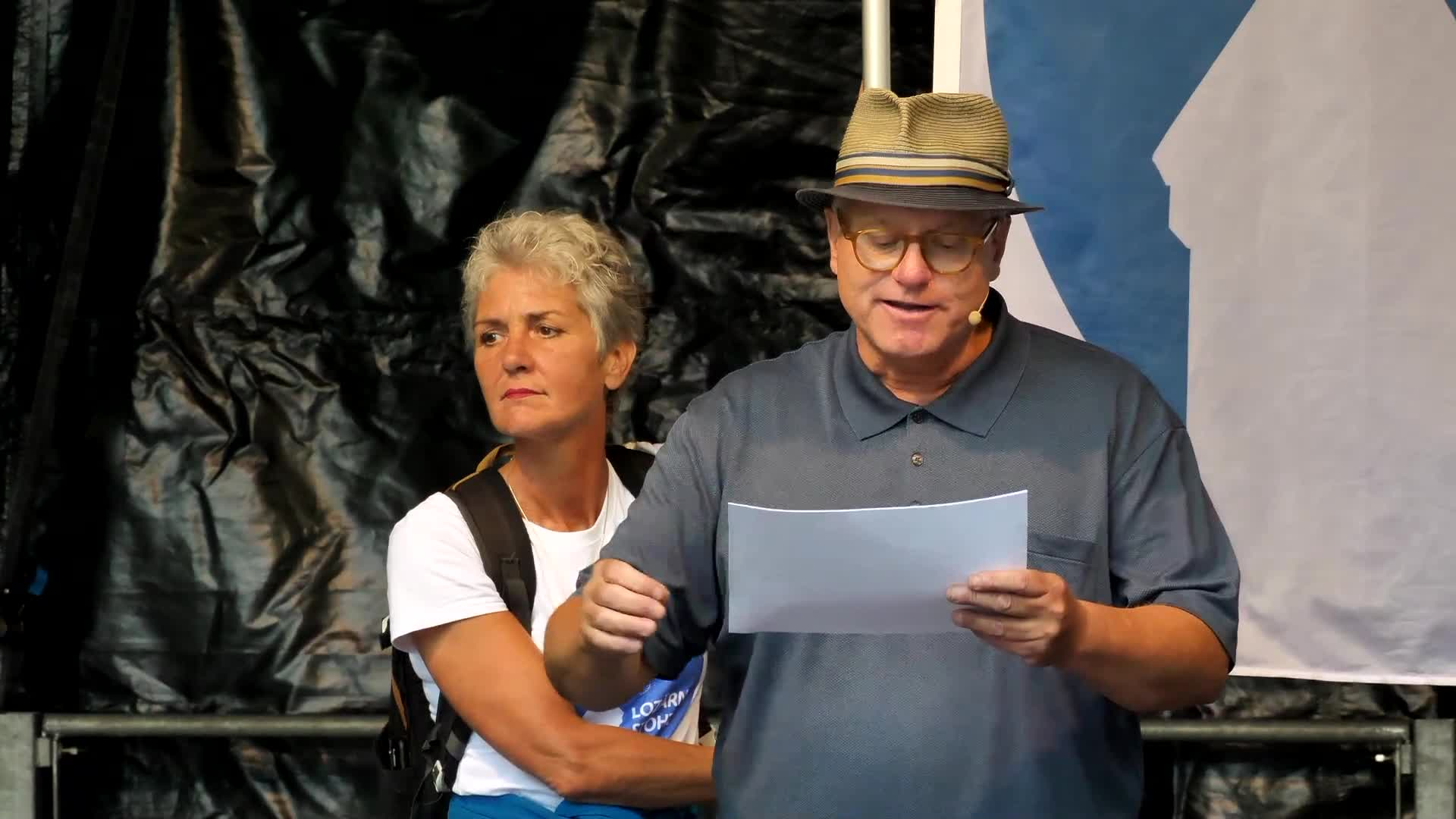 Kundgebung Luzern 31-08-2021: Ansprache: Josef Lauber