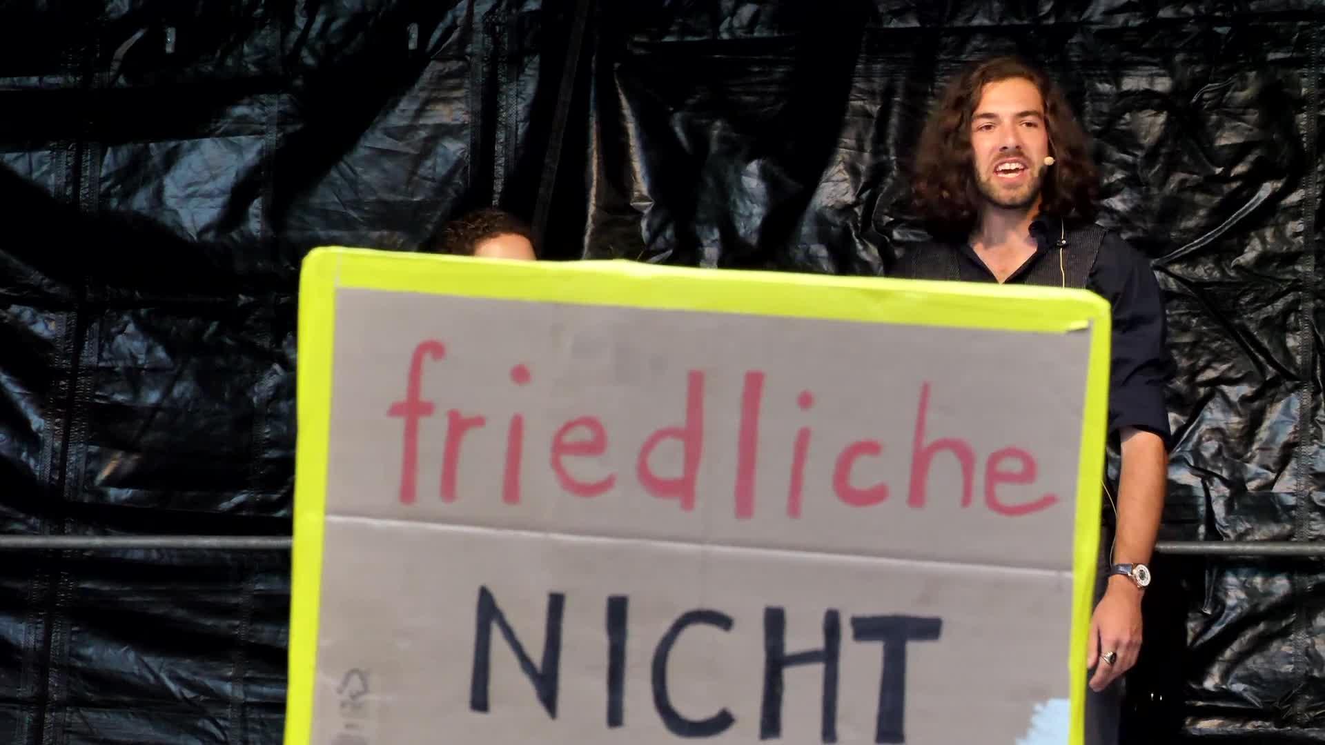 Kundgebung Luzern 31-08-2021: Ansprache: MassVoll