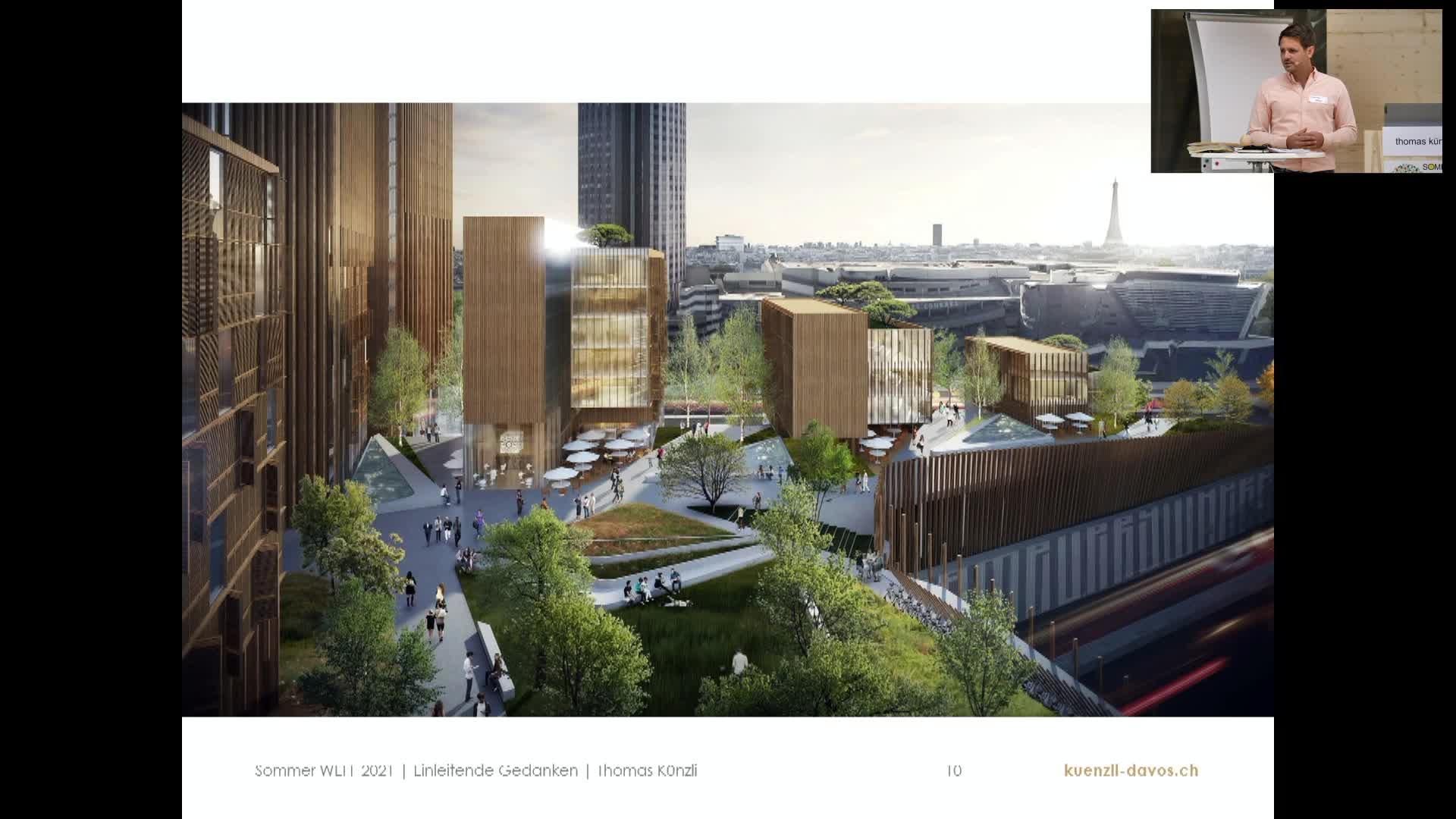 Weff 2021 - Begrüssung Thomas Künzli
